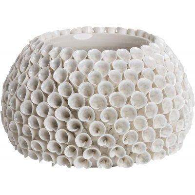 Shelly vase - Hvit