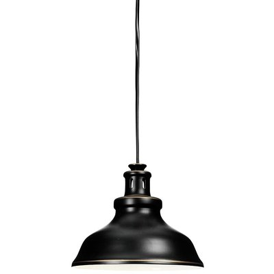 New Haven vinduslampe - Svart antikk/gull