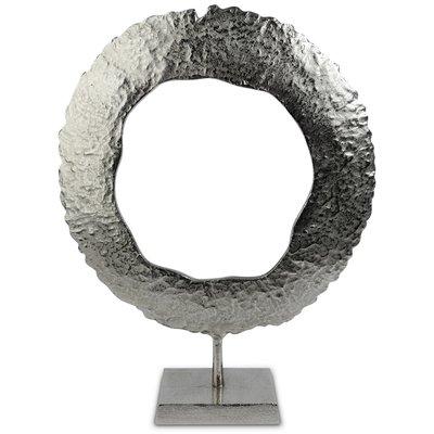 Figuren Amadeus Skjold H59 cm - Sølv