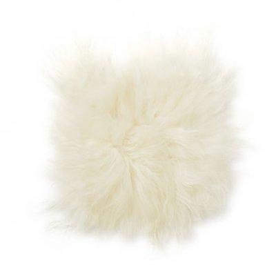 Molly stolpute fåreskinn - Hvit