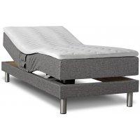 Comfort justerbar seng (grå) - Valgfri bredde