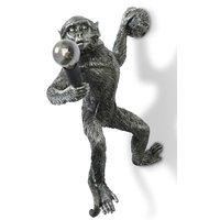 Monkey Vegglampe - Sølv