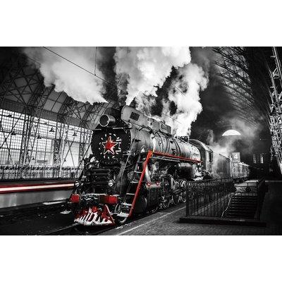 Glassbilde Locomotive - 120x80 cm