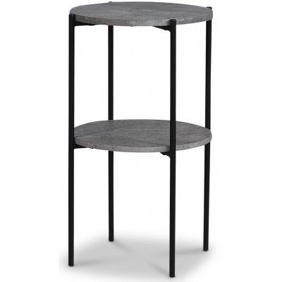 Axelfors lampebord - Betongimitasjon/svart