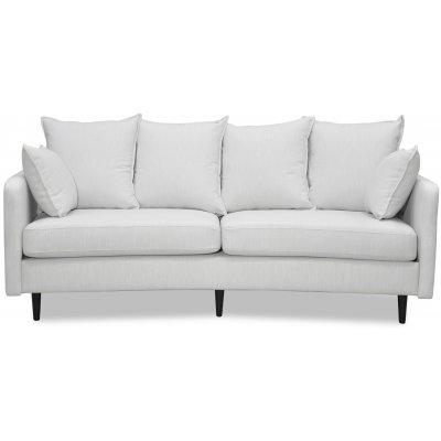 Gotland 3-seter buet sofa - Off-white lin