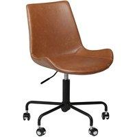 Hype kontorstol - Vintage lysbrun