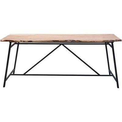 Tessa Spisebord - tre/svart