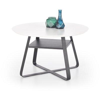 Flynn stuebord - Hvit/svart