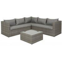 Korfu sofagruppe - Lys grå