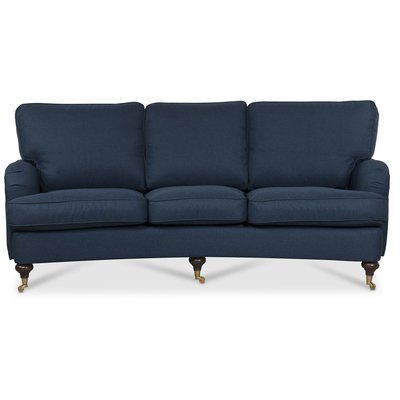 Howard Watford deluxe 4-seters buet sofa - Blå