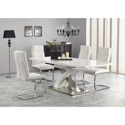 Bonita spisebord 160-220 cm - Hvit