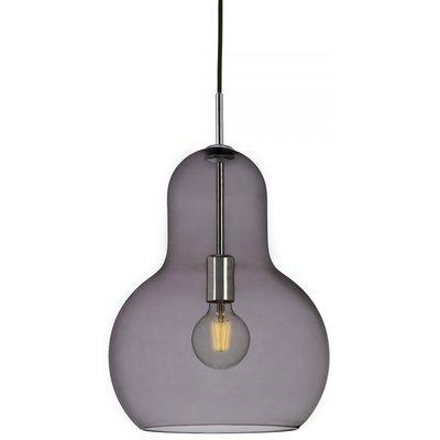 Living taklampe - Røykfarget glass