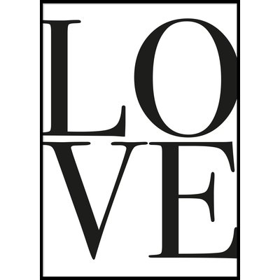 LOVE - Plakat 50x70 cm