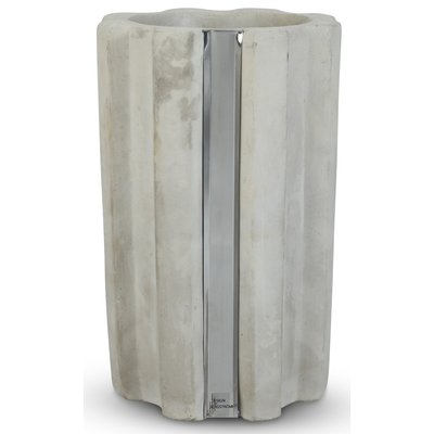 Vase Be Ground H30 cm - Betong