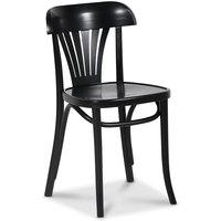Bøyetre stol No 24 klassiker - Svart