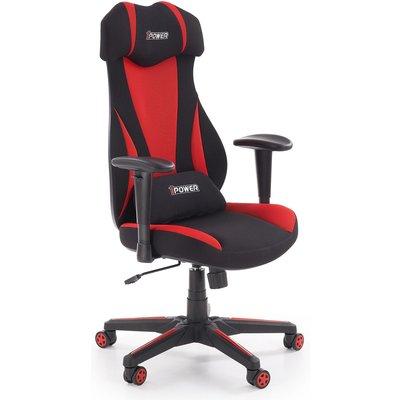 Sonny kontorstol - Rød/svart