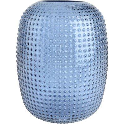 Vase kule oval - Blå