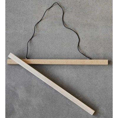 Plakathenger (Eik) - 50x70 cm Plakat