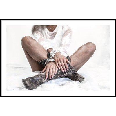 BOOTS & HANDS - Plakat 50x70 cm