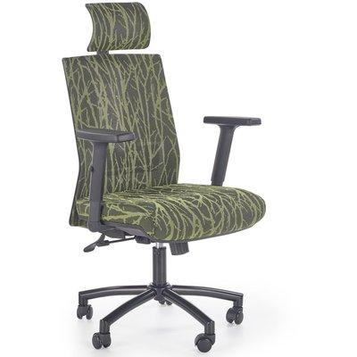 Branson Kontorstol - Svart/grønn