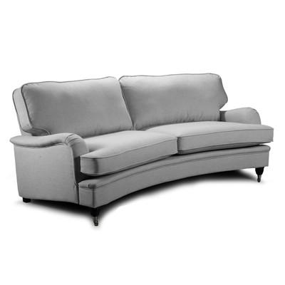Howard Oxford 4-seter Buet sofamodell - Lys grå