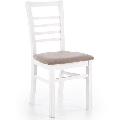 Ava spisestol - Hvit/grå