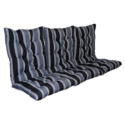 Sittepute til hammock - Grå/svart