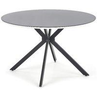 Ripley spisebord (120 cm) - Svart/Hvit
