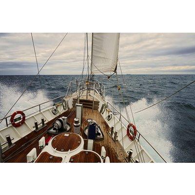 Glassbilde Yacht - 120x80 cm