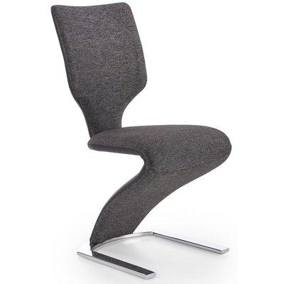 Zackary spisestol - Mørk grå/svart