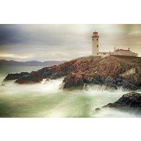 Glassbilde Lighthouse - 120x80 cm