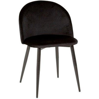 Darling stol - Svart fløyel